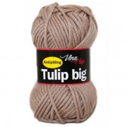 Příze Tulip Big, 4403, hnědošedá