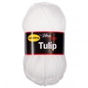 Příze Tulip, 4002, bílá