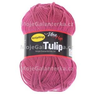 Příze Tulip, 4048, purpurová (fialovo růžová)