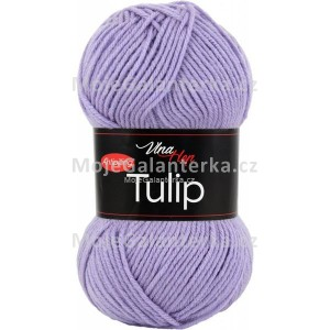 Příze Tulip, 4072, světlá fialová