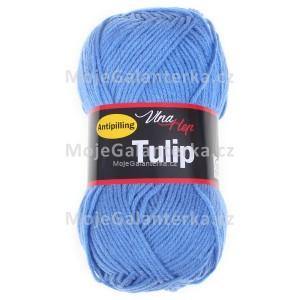 Příze Tulip, 4087, modrá