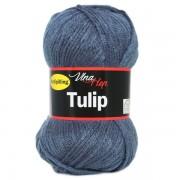 Příze Tulip, 4114, kouřově modrá