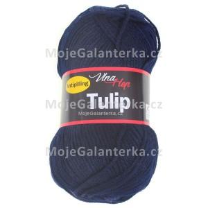 Příze Tulip, 4121, tmavě modrá