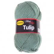 Příze Tulip, 4135, bledě zelená