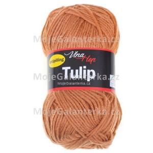 Příze Tulip, 4210, světle hnědá