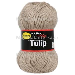 Příze Tulip, 4221, tmavší béžová