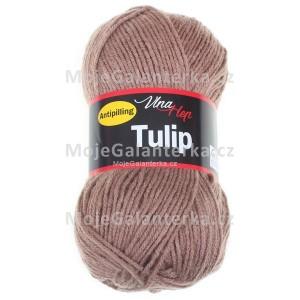 Příze Tulip, 4223, hnědošedá