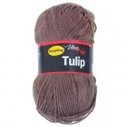 Příze Tulip, 4224, šedohnědá