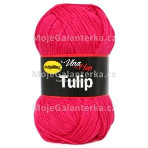 Příze Tulip, 4305, neonově červeno-růžová