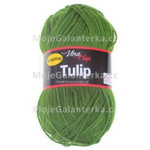 Příze Tulip, 4456, zelená