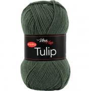Příze Tulip, 4464, tmavá šedozelená