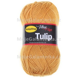 Příze Tulip, 4489, hořčicová