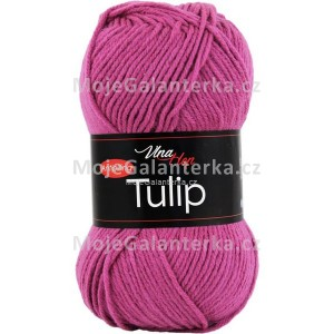 Příze Tulip, 4490, fialovo růžová