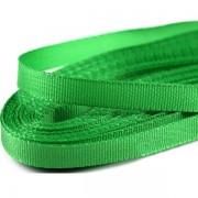 Stuha  6mm, taftová, délka 10m, zelená (309)